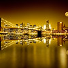 Golden Brooklyn Bridge